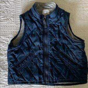 Baby Gap Navy Puffer Vest